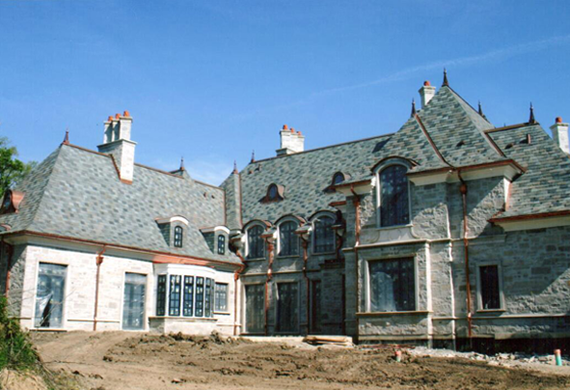 G o architectural design construction portfolio for French country manor
